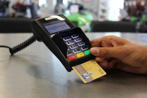 Kartenzahlung - kontaktlos